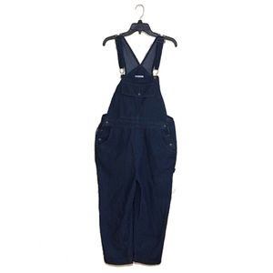 Vintage Mainstreet Blues ankle crop overalls